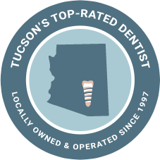 Tucson's Top Rated Dentist Badge